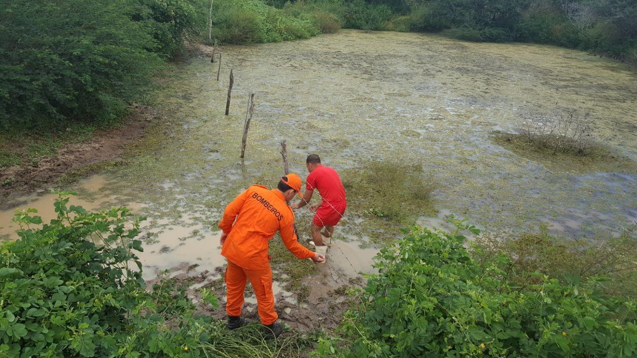 Corpo de criança é encontrado em açude no município de Craíbas, Alagoas
