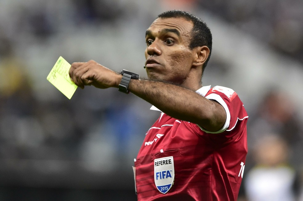 Árbitro Fifa paraense Dewson Fernando Freitas apitou o último Re-Pa — Foto: Arquivo/O Liberal