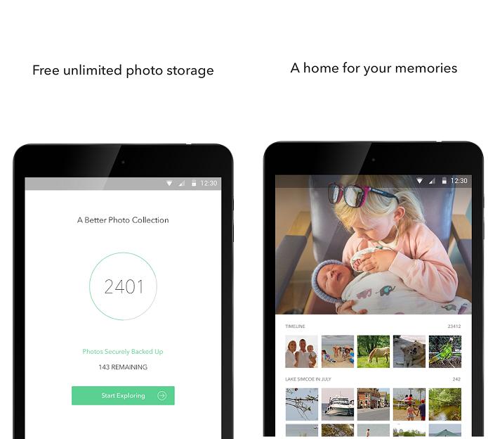 Shoebox é um aplicativo que salva fotos do usuário na nuvem (Foto: Divulgação)