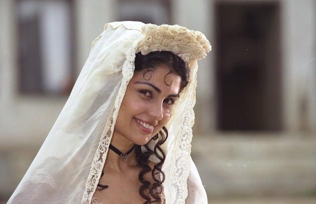 Blanca, uma espanhola que mora no Brasil, foi a sua personagem em 'A padroeira' (Foto: TV Globo)