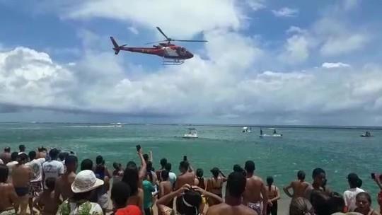 Adolescente de 16 anos morre afogado na Praia do Gunga, Litoral Sul de Alagoas