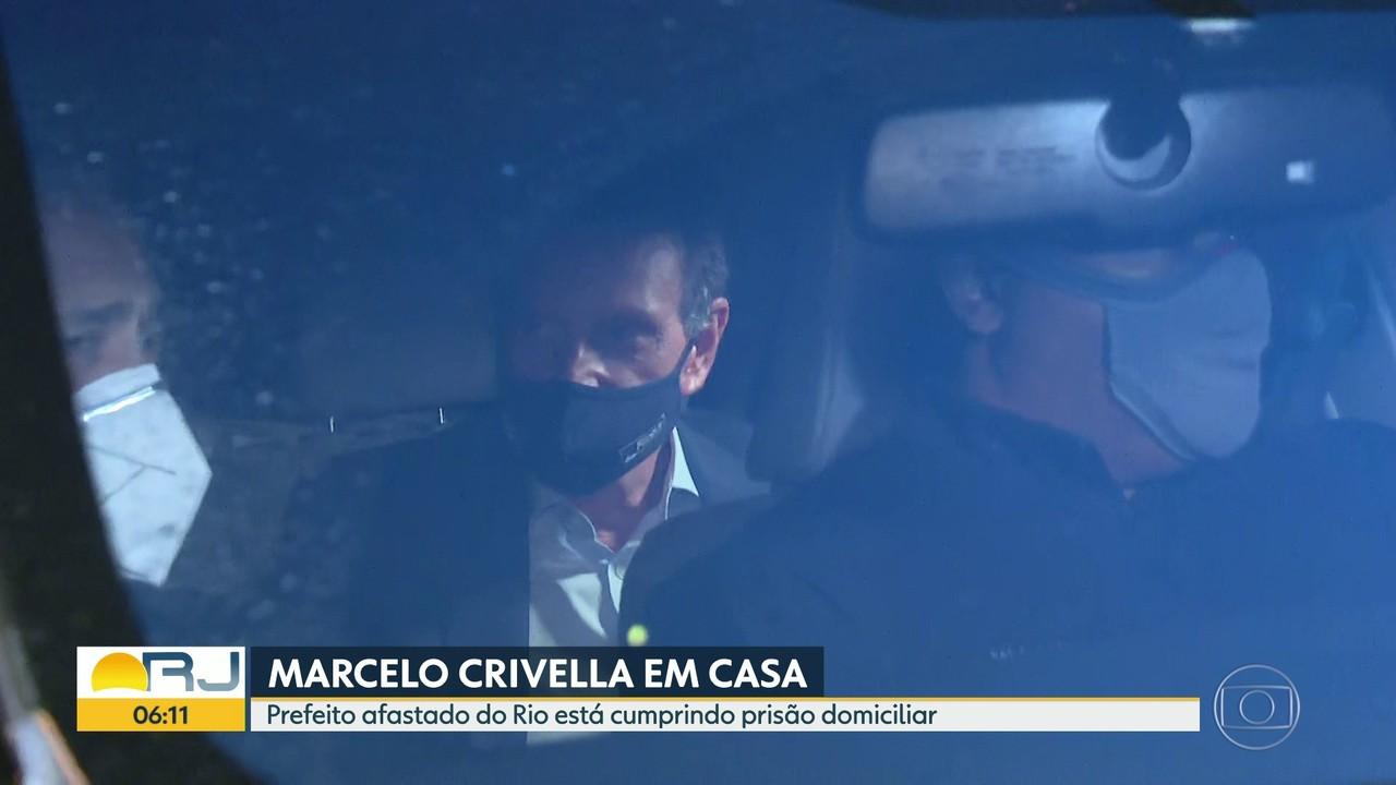 Marcelo Crivella cumpre prisão domiciliar