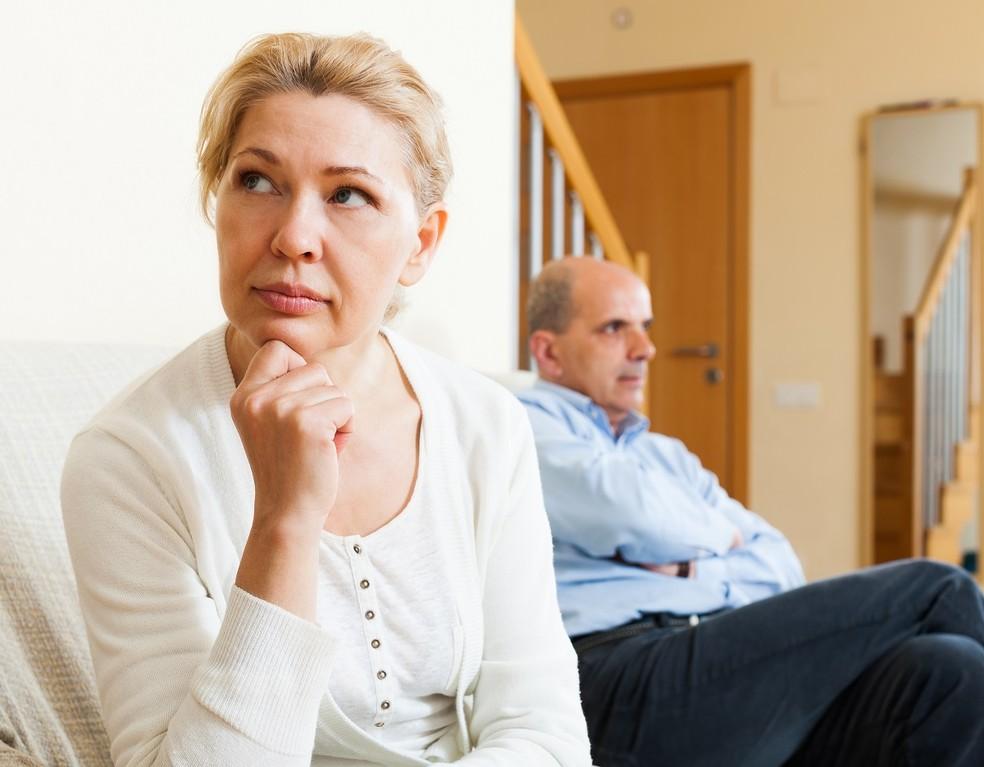 Menopausa: sintomas psicológicos podem afetar marido e filhos (Foto: Ilustração)