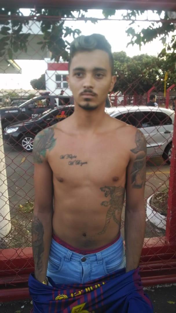 Foragido conhecido como 'Ben 10' é preso suspeito de três assassinatos