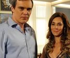 Dalton Vigh e Christiane Torloni em 'Fina estampa' | TV Globo