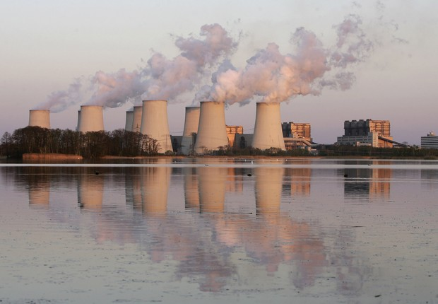 poluição, efeito estufa, aquecimento global, mudança climática (Foto: Sean Gallup/Getty Images)