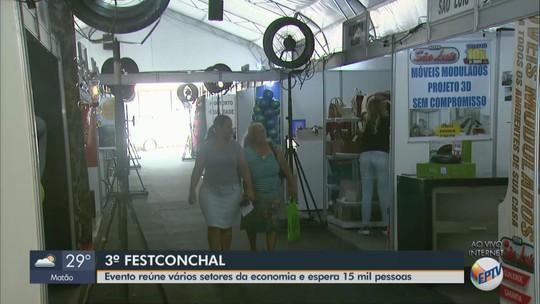 3ª Fest Conchal espera público de 15 mil pessoas; veja programação