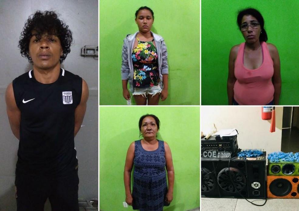 Grupo expulsava moradores de casas em bairro de Cruzeiro do Sul — Foto: Divulgação/PM-AC