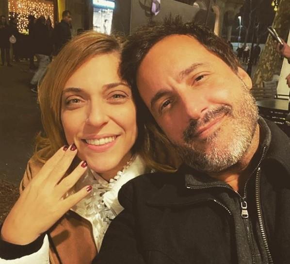 Julia Rabello e o namorado, cujo mome ela prefere manter em sigilo (Foto: Reprodução)
