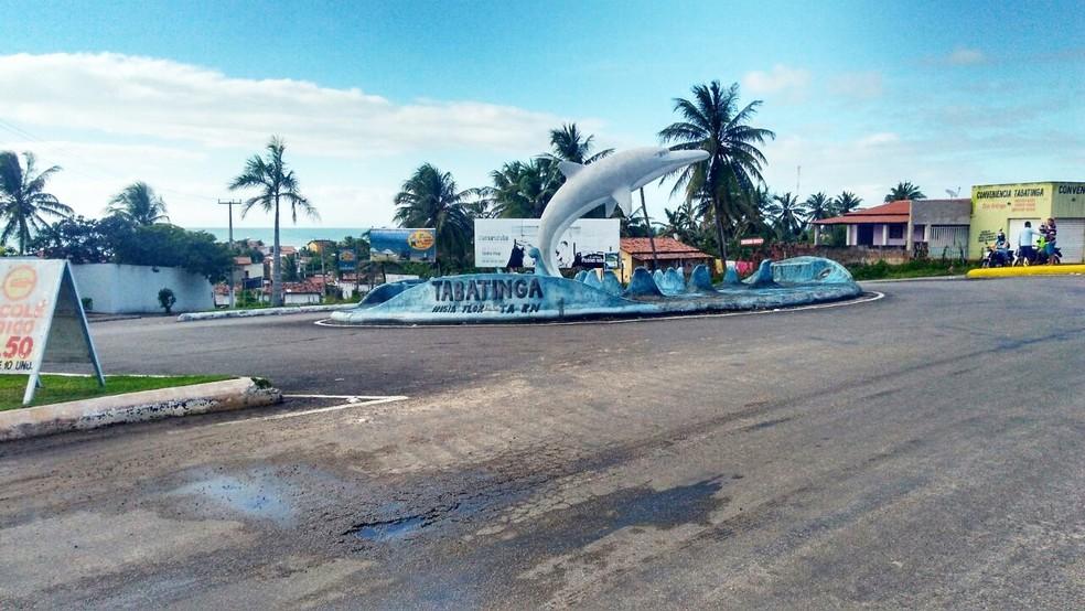 Crime aconteceu na praia de Tabatinga, no litoral Sul do estado  (Foto: Marksuel Figueiredo/Inter TV Cabugi)