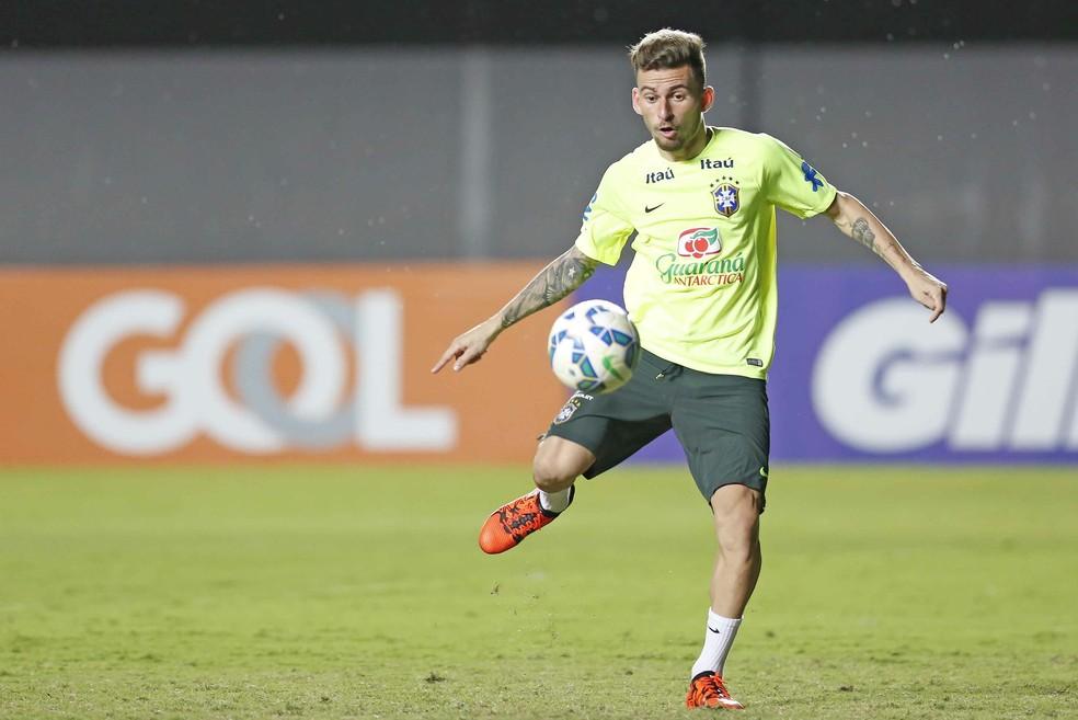 Lucas Lima é o novo reforço do Palmeiras para 2018 (Foto: Rafael Ribeiro/CBF)