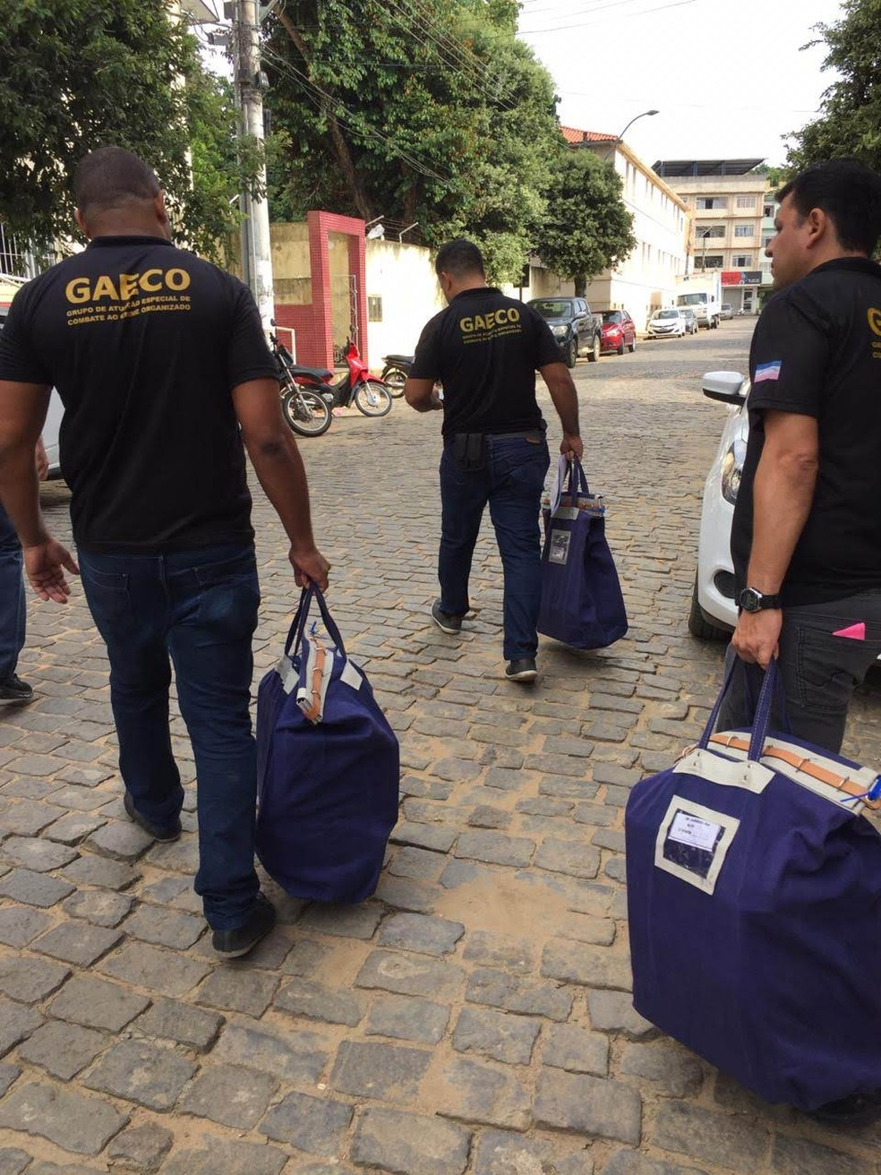 Operação que investiga corrupção em coleta de lixo tem 3ª fase — Foto: Divulgação/ MP-ES