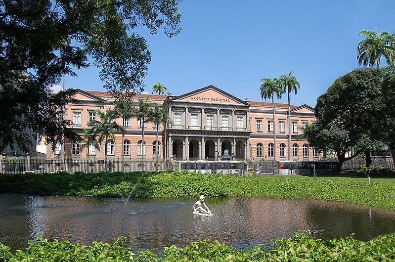Sede do Arquivo Nacional (Foto: Wikimedia Commons )