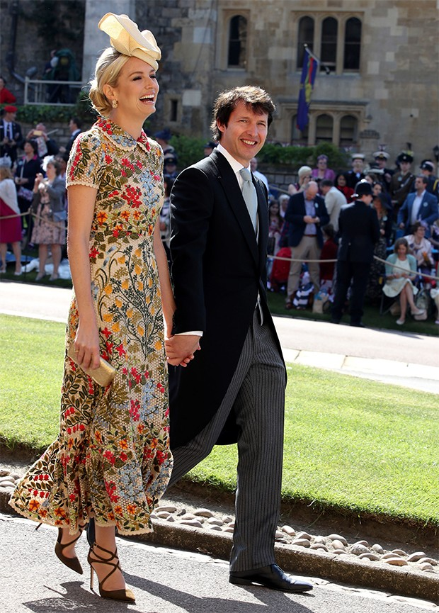 Sofia Wellesley e James Blunt (Foto: Getty Images)
