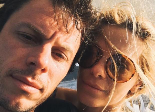 Carolina Dieckmann e marido  (Foto: Reprodução)