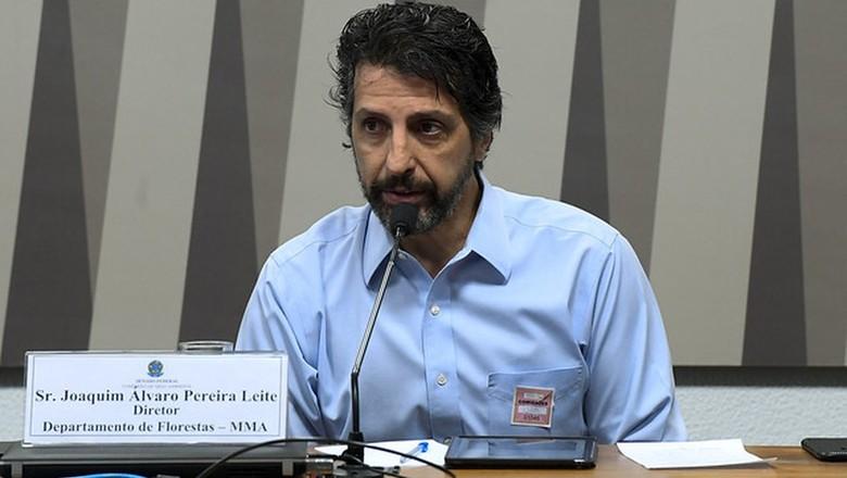 Joaquim Álvaro Pereira Leite, novo ministro do Meio Ambiente do governo de Jair Bolsonaro (Foto: Marcos Oliveira/Agência Senado)