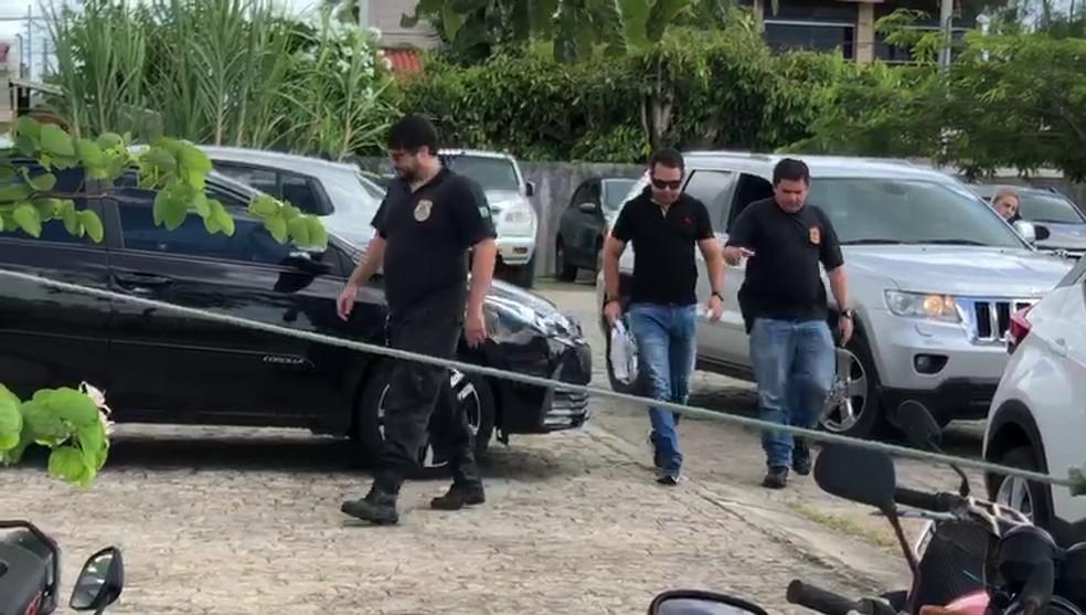 Empresário do ramo da construção civil George Ramalho Barbosa foi preso na Operação Feudo, em João Pessoa — Foto: Walter Paparazzo/G1