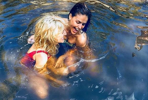 Alli Willow e Paloma Bernardi (Foto: Reprodução/Instagram)