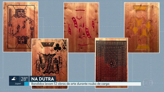 Polícia procura por 52 obras de arte levadas durante roubo de carga na Dutra