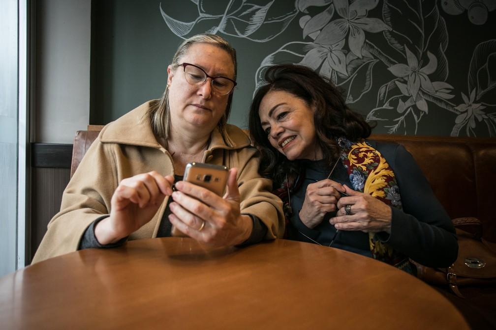 As empreendedoras Veronique Forat e Martha Monteiro. — Foto: Fabio Tito/G1