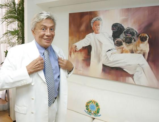 O estilista Clodovil Hernandez (Foto: Agência o Globo)