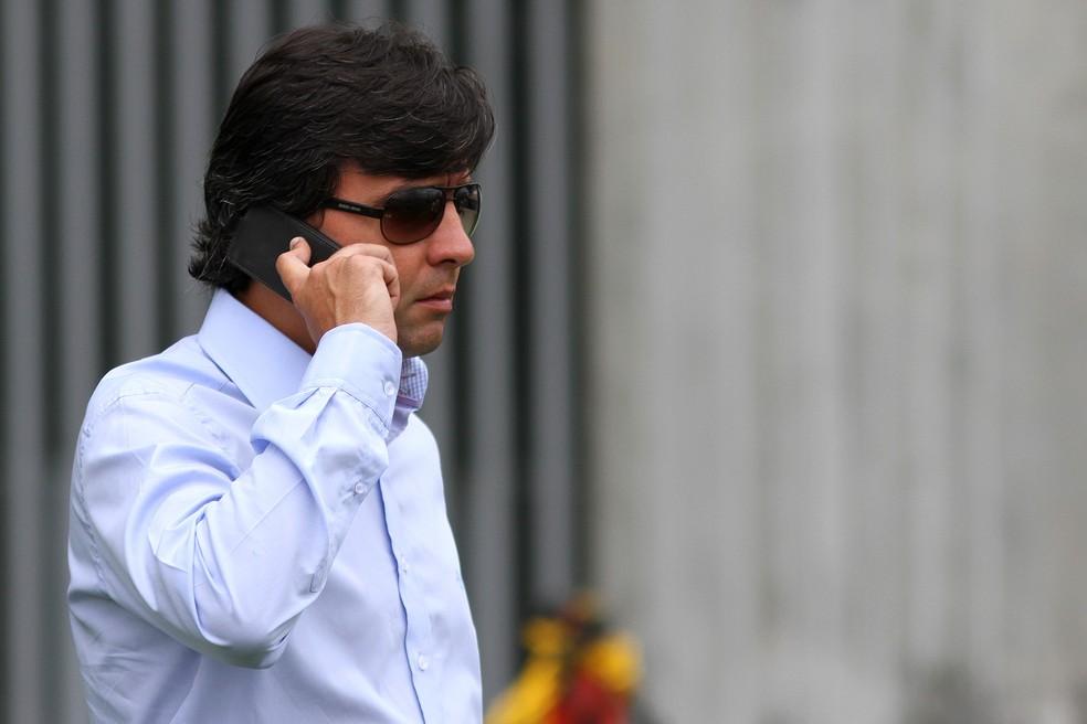 Noronha é ativo no clube e negocia principalmente com gringos (Foto: Vitor Silva/SSpress/Botafogo)