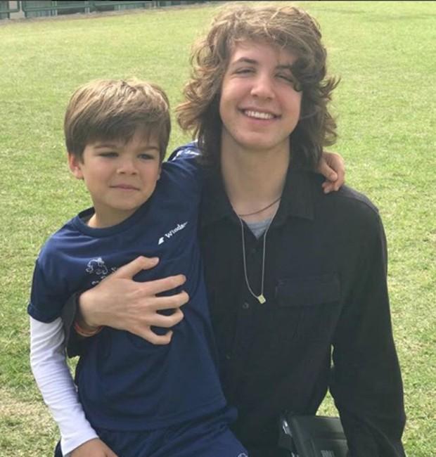 Lorenzo e Lucas, filhos de Luciana Gimenez (Foto: Reprodução/Instagram)