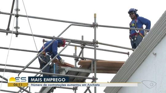 Número de contratações cresce em Anchieta, ES, e 300 novos empreendimentos são abertos