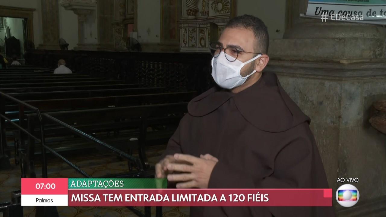 Missa à nossa Senhora do Carmo no Recife