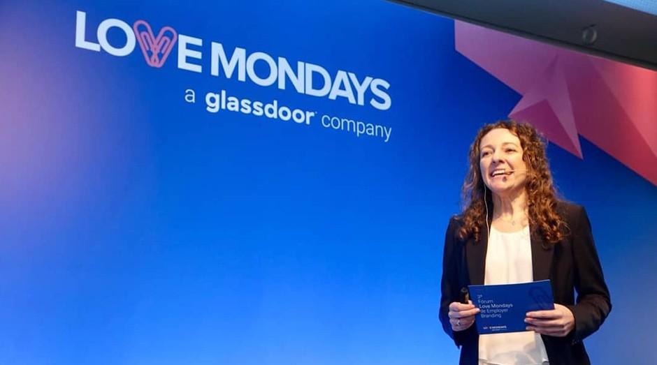 Luciana Caletti, presidente executiva da LoveMondays, uma das startups pioneiras no mercado de recursos humanos (Foto: Reprodução/Facebook/Love Mondays Brasil)