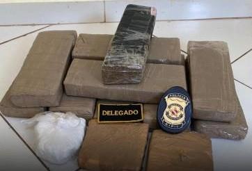 Polícia apreende quantidade de droga avaliada em R$50 mil em Marabá, no PA