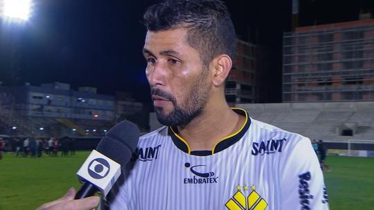 Marlon fala sobre a derrota para o Brasil de Pelotas