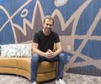 'BBB' 19: Tiago Leifert no quarto do líder do  | Globo/Victor Pollak