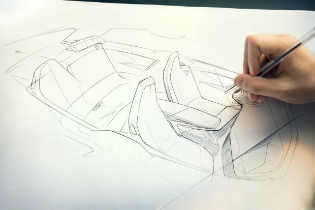 BMW iNext tem esboços de design revelados (Foto: Divulgação)