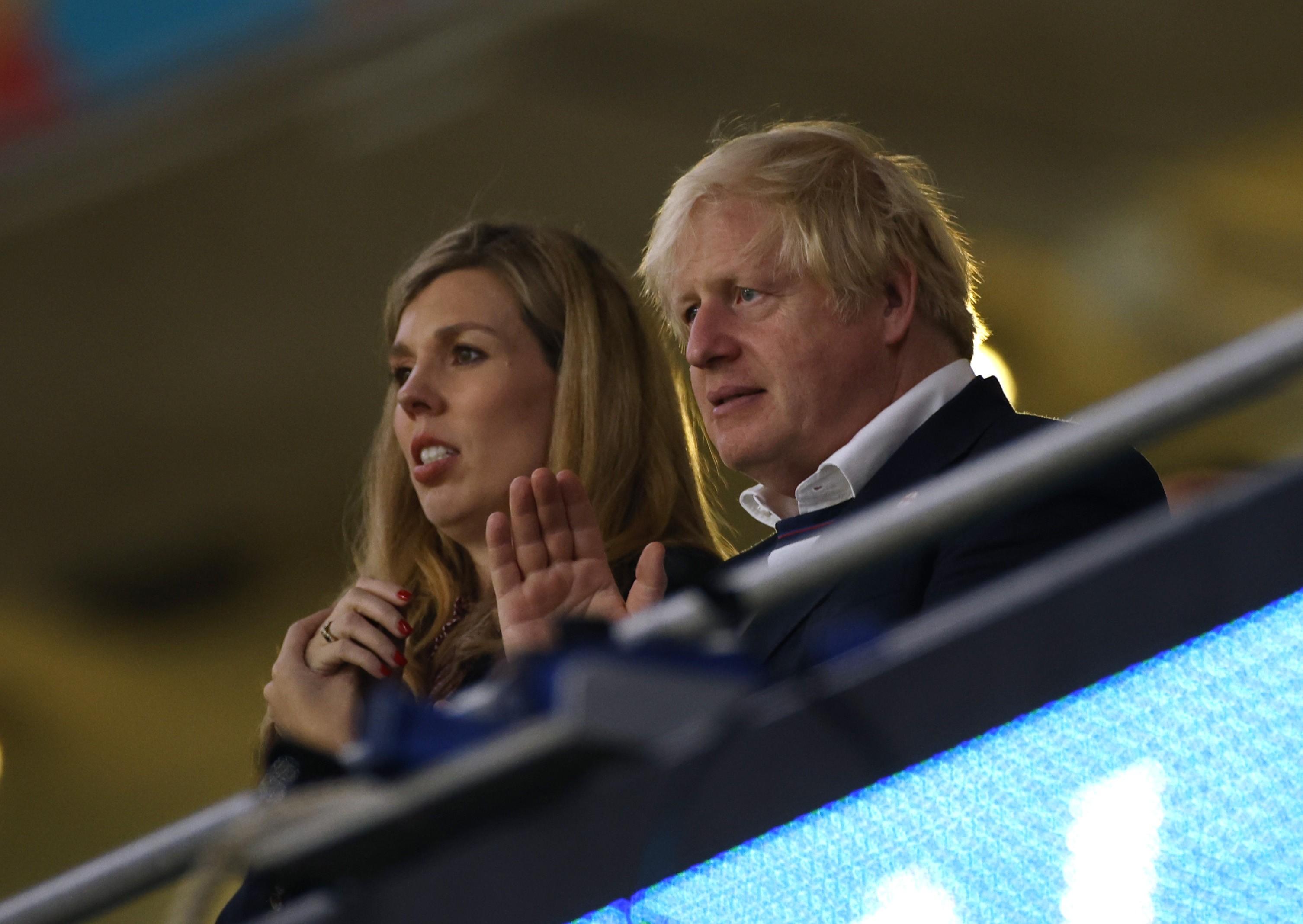 Mulher de Boris Johnson, do Reino Unido, está grávida pela segunda vez