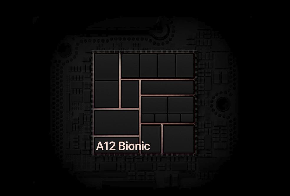 Poderoso A12 Bionic do iPad Pro mostra que Apple pode desenvolver hardware poderoso para substituir a Intel — Foto: Divulgação/Apple
