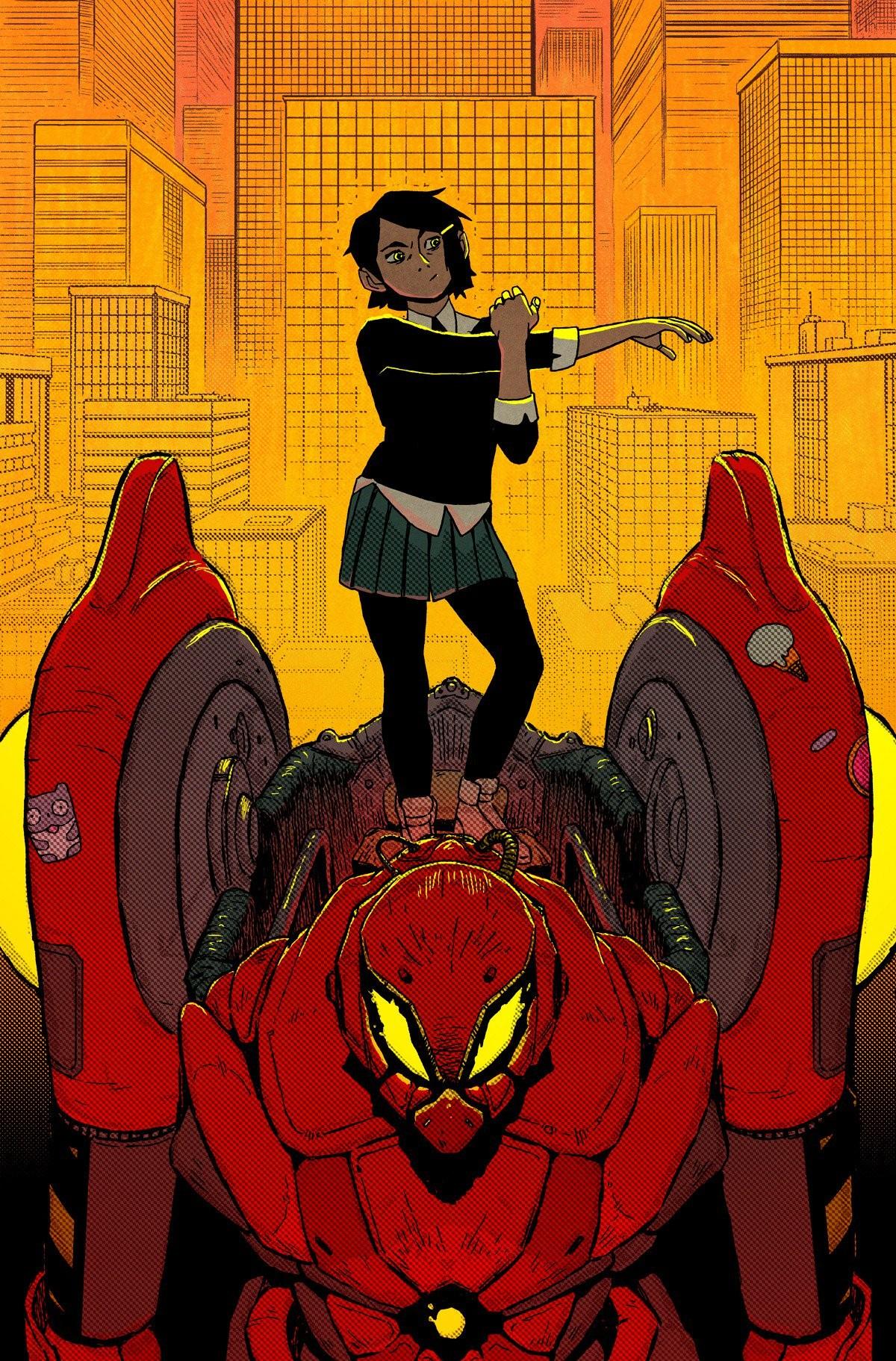 Peni Parker em 'Edge of Spider-Geddon' (Foto: Reprodução)
