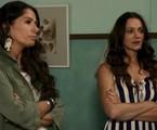 Adriana Galisteu e Alexandra Richter em 'O tempo não para' | Reprodução