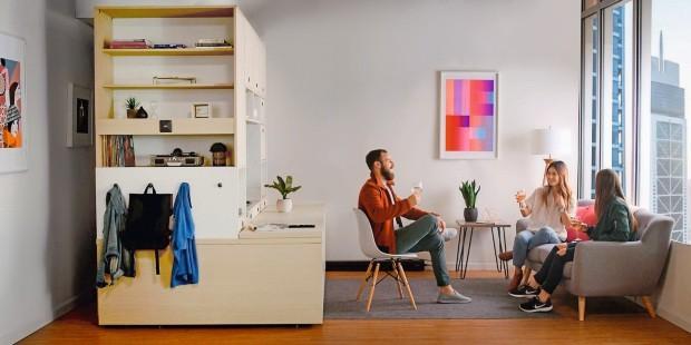 Ori, um móvel que serve de rack, cama, mesa e guarda-roupa (Foto: Divulgação)