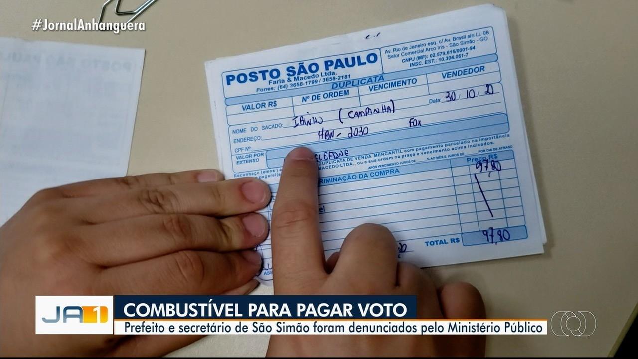 MP denuncia secretário e prefeito de São Simão por compra de voto durante eleições