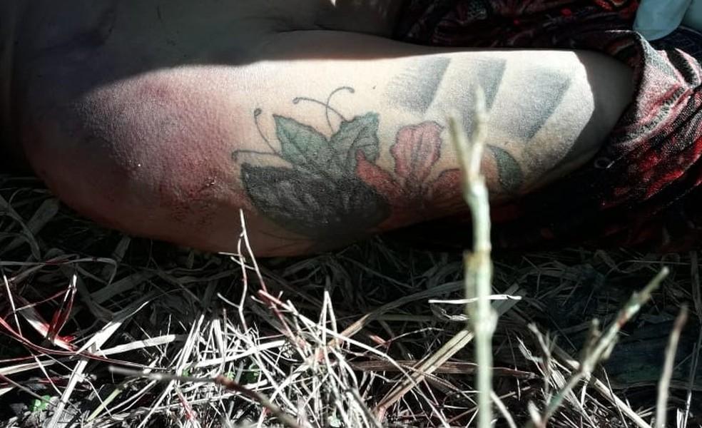 Corpo de mulher de 38 anos é encontrado em estrada próxima a Itariri, SP — Foto: Divulgação/Polícia Civil