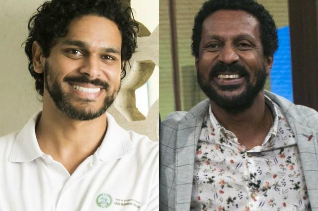 Renan Monteiro e Luis Miranda (Foto: TV Globo)