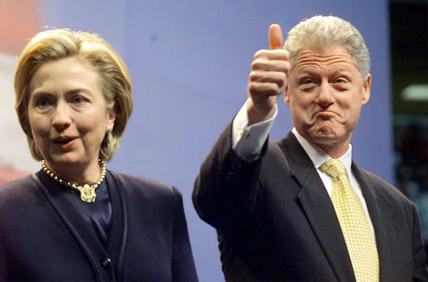 Hillary e Bill Clinton (Foto: Getty Images)