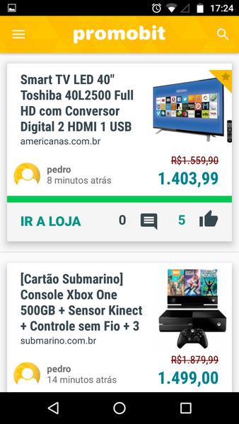 Promobit Ofertas   Download   TechTudo d7e9f73f32