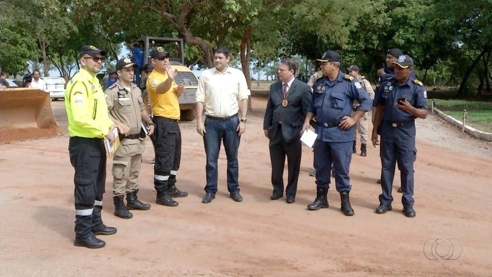 Segurança será reforçada em Palmas para a virada do ano na Praia das Arnos (Foto: Reprodução )