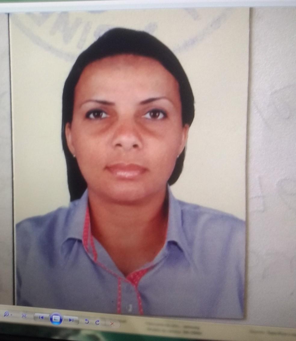Cleonice Pereira de Lima Naréssi é principal suspeita de assassinato  (Foto: Divulgação/Delegacia de Homicídio)