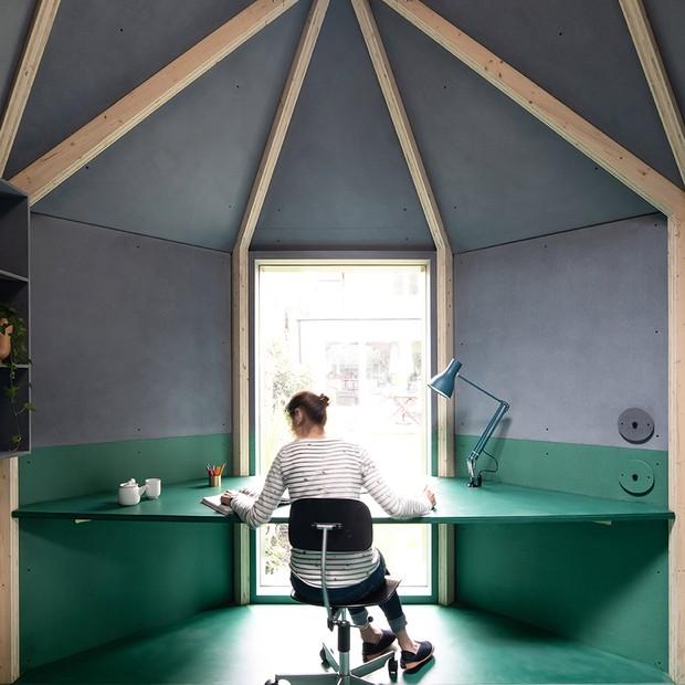 Home office no quintal: 15 projetos para inspirar (Foto: Ben Tynegate)