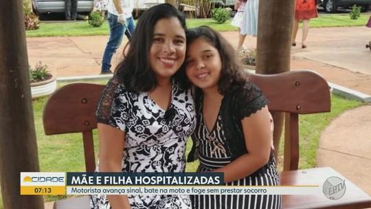 Vítima de colisão em Bebedouro foi salva pela filha, diz família: 'viu que estava sufocando'
