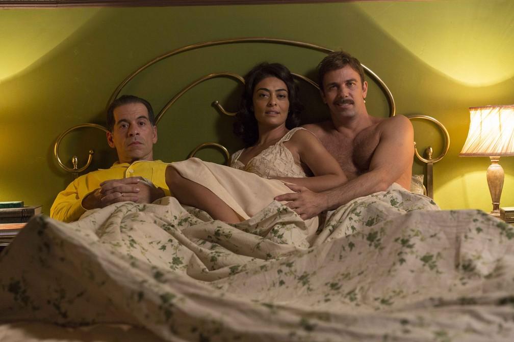 -  Leandro Hassum, Juliana Paes e Marcelo Faria em cena do filme  Foto: Divulgação