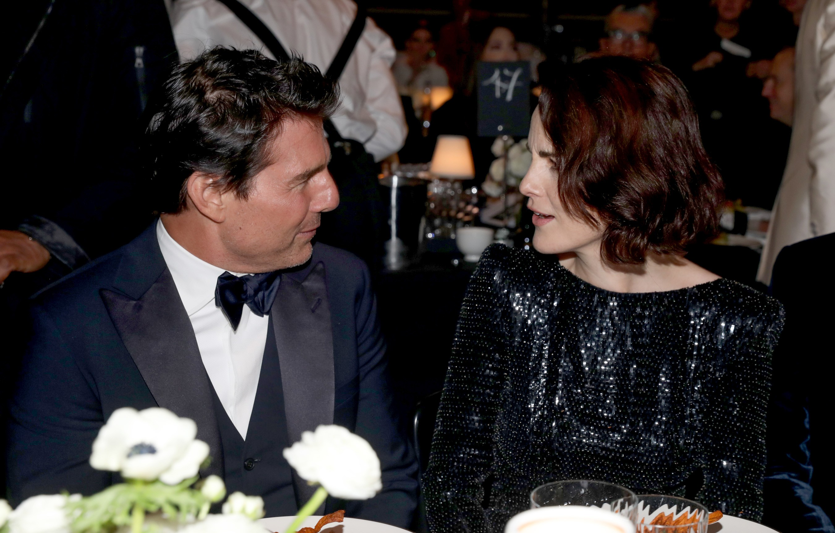 Tom Cruise e Michelle Dockery (Foto: Getty Images)